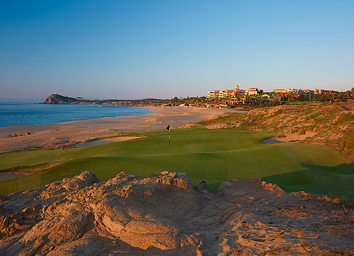 3. Cabo del Sol (Ocean), Cabo San Lucas, Mexico: The most spectacular south-of-the-border experience since the original Cinco de Mayo, this 1994 seaside/desert design features back-to-back oceanside par-3s on the front side and a closing trio that stands as Mexico's best. The par-3 17th is the showstopper, with its cliff-top tee box, cactus-covered hillsides and Sea of Cortez backdrop.