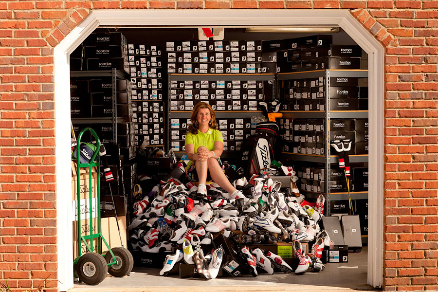 "Ann Cain, Player promotion executive women's golf, Acushnet Company                       LPGA players don't have to visit Cain's shoe-clogged garage to find the footwear that goes perfectly with their outfits. She's a master of social media, tweeting tour players around the clock as ""TFJgolfgirl."" (""My mom just asked me what BTW stood for? She thought it was 'back to work!' LOL."")"