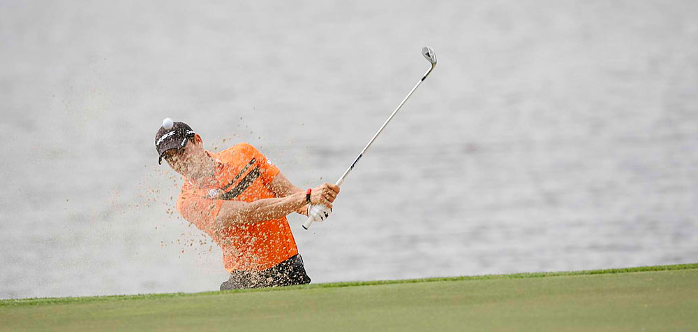 Camilo Villegas made four bogeys on the back nine to shoot a two-over 72.