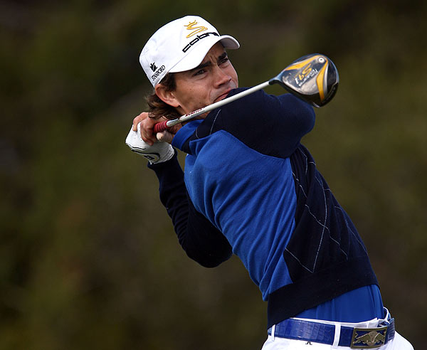 First Round of the Buick Invitational                     Camilo Villegas has a commanding three-stroke lead at nine under par after the first round at Torrey Pines.
