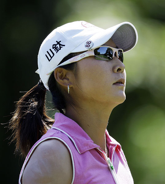 Ji's birdie kept her out of a playoff with Candie Kung. Kung finished at one over par.