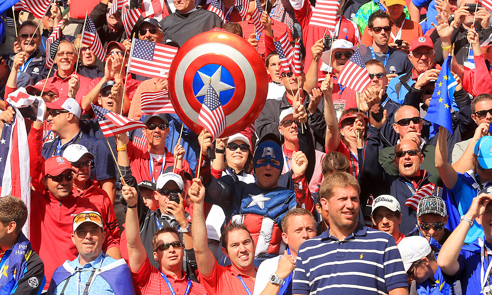 Passionate golf fans from both sides of the Atlantic show up in droves every two years at the Ryder Cup.