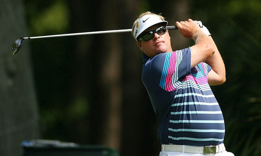 Carl Pettersson is in second place after a 65.