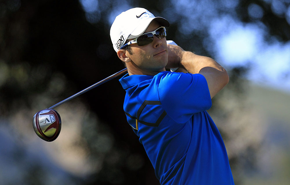 Paul Casey fought back from an opening 79 to finish third.