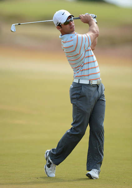 Paul Casey made six birdies and two bogeys for a four-under 68.
