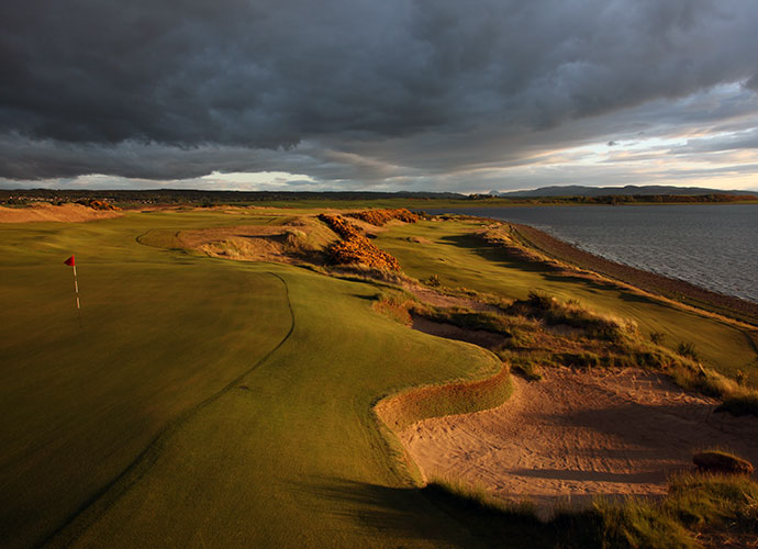 Castle Stuart Golf Links, Inverness [011-44-1463-796111, castlestuartgolf.com]: GOLF Magazine's Top New International Course of 2009 is ranked No. 56 in the world, thanks to a brilliant Gil Hanse/Mark Parsinen design that was effusively praised by Phil Mickelson, who won the 2013 Scottish Open there. Wide fairways, wild and woolly bunkers and eye candy panoramas of Moray Firth and the Scottish Highlands are highlights.