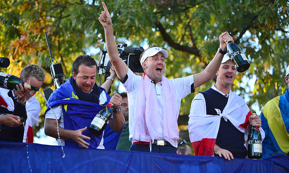 No European player did more for his team than Ian Poulter, who went undefeated at Medinah.