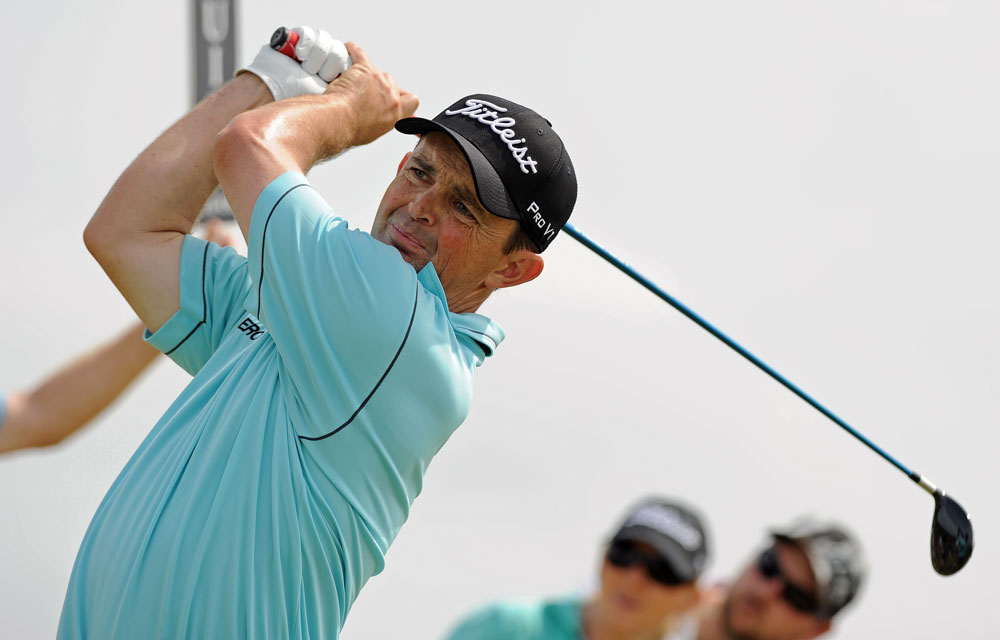 Greg Chalmers made two birdies on the back nine to win his second Australian Open.