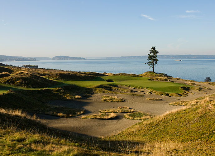 Chambers Bay Golf Course University Place, Wash.; Robert Trent Jones II (2007) -- $99-$239, chambersbaygolf.com