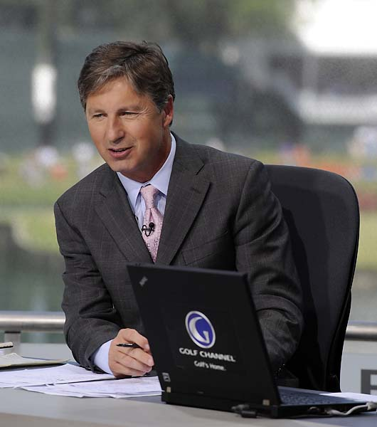 """His driver might as well be a dead mackerel in a newspaper right now.""                       --Brandel Chamblee on Tiger Woods' swing."