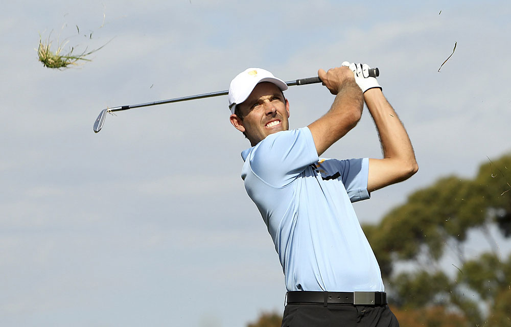 Charl Schwartzel: A-                       Record: 3-1-1                       Never seemed comfortable with his game yet earned 3.5 points.