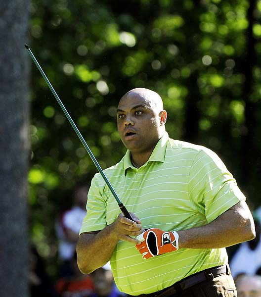 """There's worse things at life than sucking at golf.""                   --Charles Barkley at the American Century Championship media day."