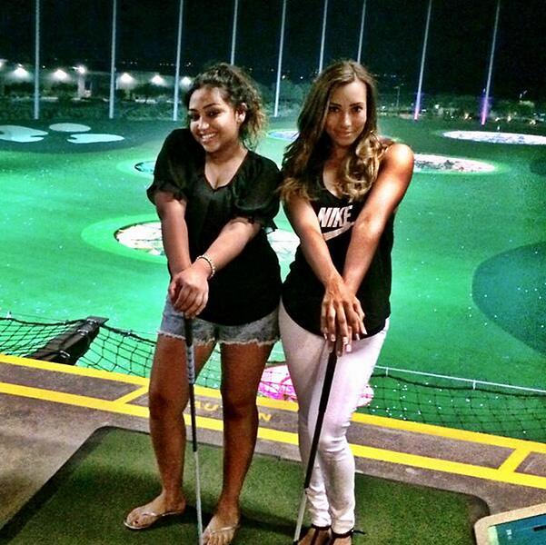 @Cheyenne_Woods:Last night at TopGolf