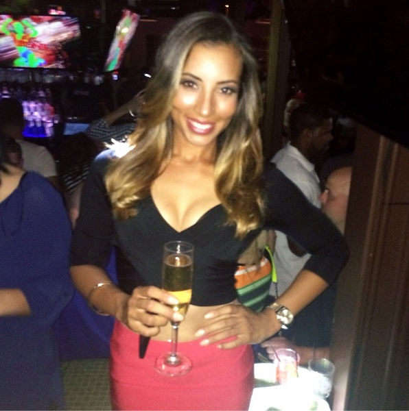 @cheyenne_woods Had a great night with all my favorites. Finally got to celebrate my win!!