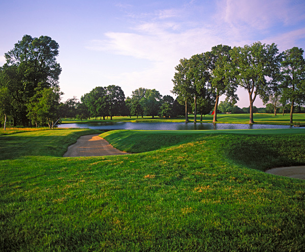 Chicago Golf Club, Wheaton, Illinois: One of the five founding clubs of the United States Golf Association in 1894, Chicago was also the site of the nation's first 18-hole course and the first to host the U.S. Open outside of the Northeast. With only about 100 members and a steeplechase worth of hurdles to clear in order to get in, it's no wonder that little has changed there in 100 years. Driving up to the colonnaded white clubhouse, you half expect to see a horse buggy come 'round the bend.