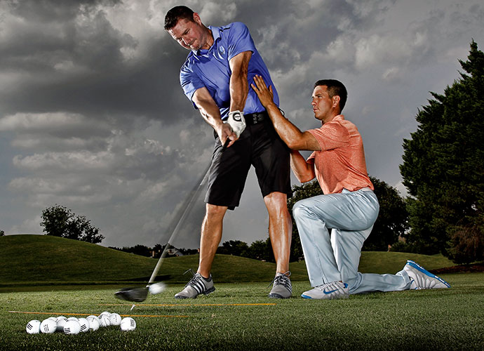 Como is also about to receive his masters degree in biomechanics, but he's already incorporating Kwon's findings in the lessons he gives to golfers young and old.