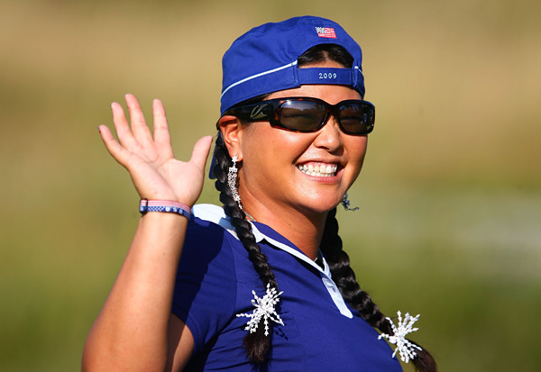 Solheim Cup Record: 2-1-1