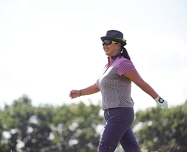 Christina Kim                       Relationship to Tiger: Fellow high-profile professional golfer                                              Pros: We know tough-talking Kim won't put up with any nonsense from the Tour wives, the media, or even Tiger.                       Cons: We can't understand why she wears two pairs of sunglasses at the same time.