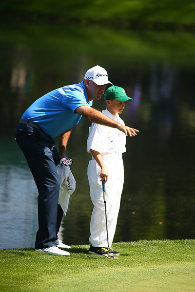 """You should listen to your father, kid. He won the 2009 British Open."""
