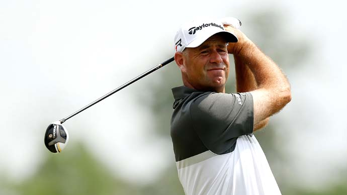 Remember him? In Houston, Stewart Cink showed his game might be rounding into form at the right time.