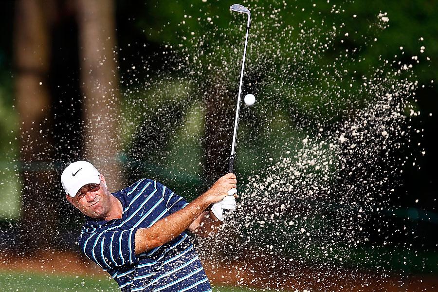 Stewart Cink shot a three-under 69.