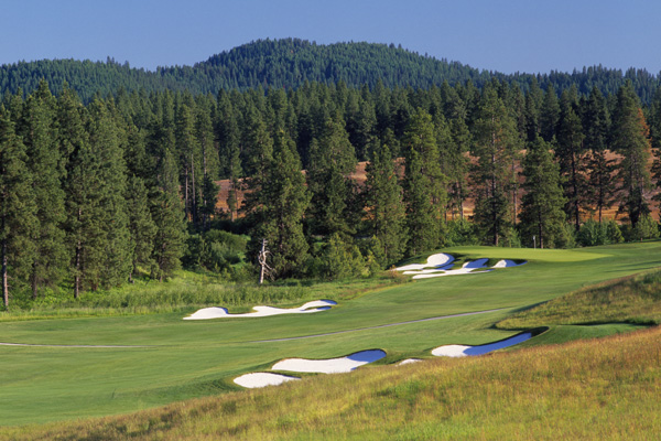 5. Circling Raven Golf Club                       Worley, Id.                                              If you like floating island greens, you'll have to drive up the road to Coeur d'Alene. If you prefer a back-to-nature round where you're more likely to see a stray elk than another golfer, you'll love this Gene Bates design on tribal land surrounded by forests, meadows and wetlands. The highlight is the quartet of rugged par-3s-including the 12th, which stretches to 253 yards, much of it a forced carry. And prices here max out at $90, and we love underpriced as much as underrated.