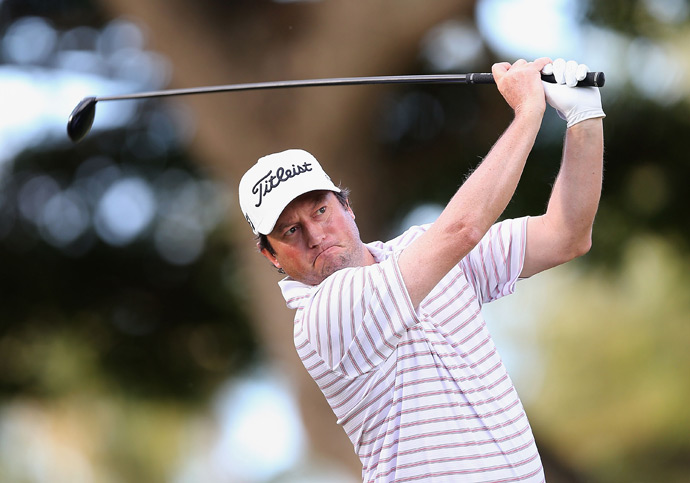 After battling injuries, Tim Clark is back in contention at the Sony Open. He fired a 66 in the second round.
