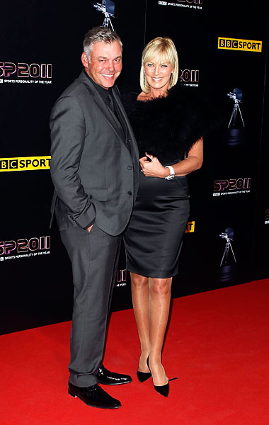 British Open champion Darren Clarke at the 2011 BBC Sports Personality of the Year.