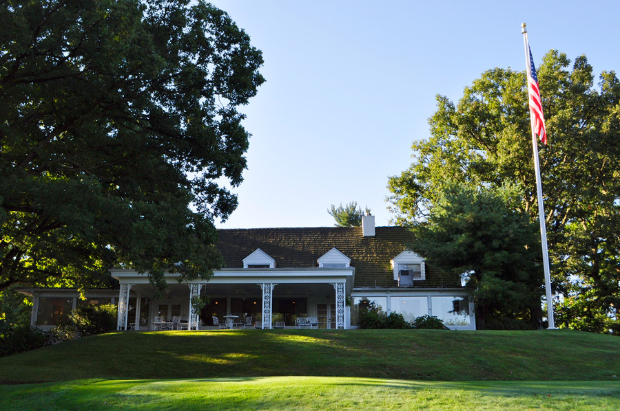 The clubhouse at Latrobe C.C.
