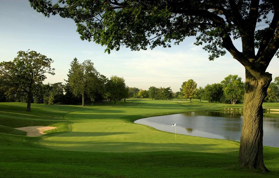 21. Cog Hill Golf Club (No. 4)                        Lemont, Ill. -- $155, coghillgolf.com