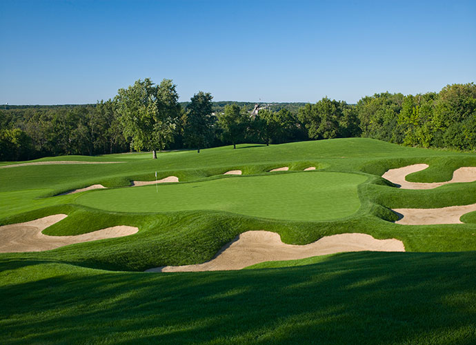 34. Cog Hill (No. 4) Lemont, Ill.; Dick Wilson/Rees Jones (1964/2008) -- $155, coghillgolf.com