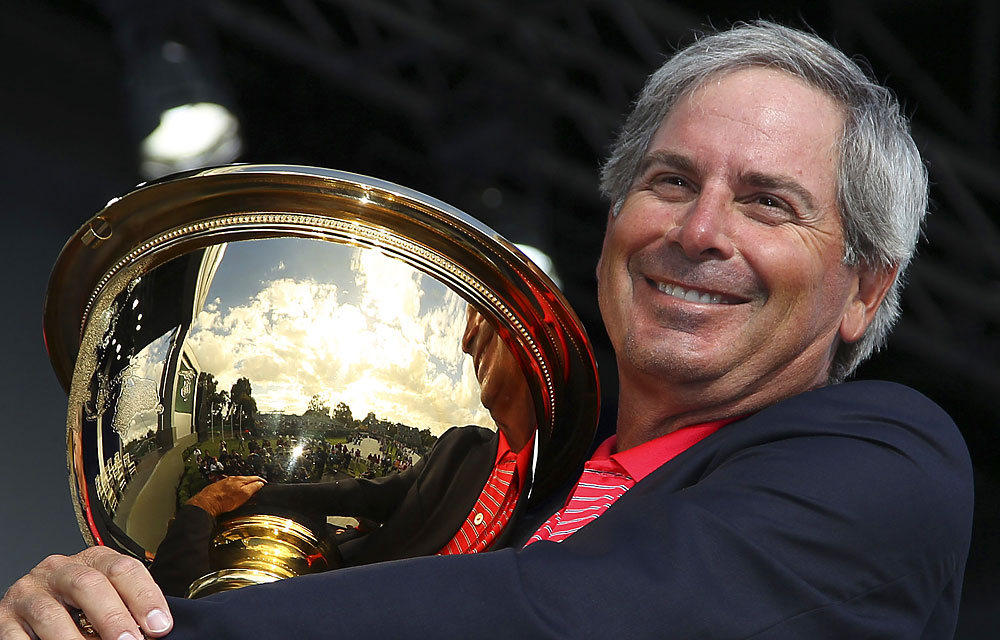 Fred Couples: A-                       Shades of Zinger: A players' captain who pushes all the right buttons all the time.