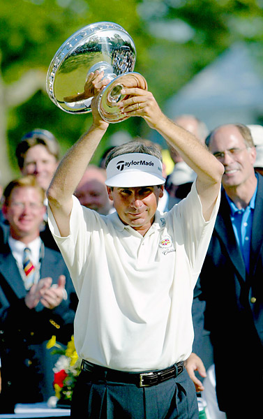 Couples captured his 15th and last PGA Tour victory to date at the 2003 Shell Houston Open.