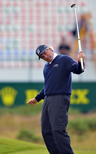 Fred Couples made a big charge up the leaderboard on Saturday.