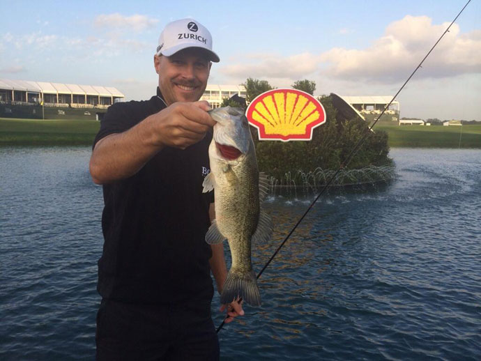 @BenCraneGolf: Welcome to the @ShellHouOpen. I can report that the lake is stocked with fish (and probably stocked w golf balls)