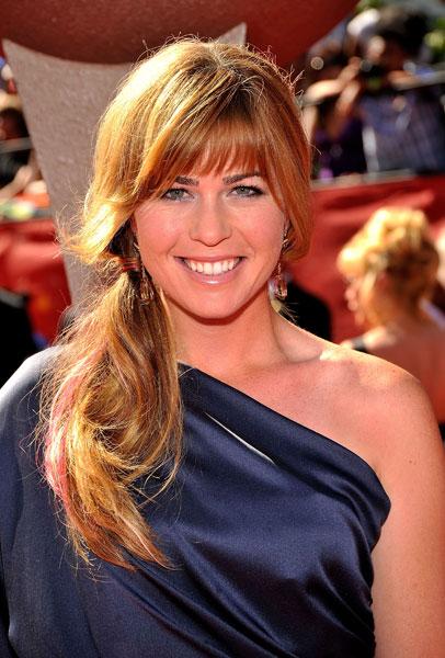 Paula Creamer walked down the red carpet at the 2009 ESPY Awards.