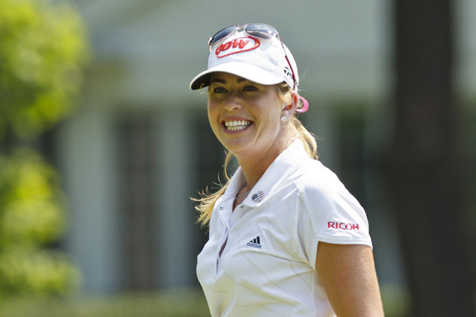 This season, Creamer has one victory on the LPGA Tour. She won the HSBC Women's Championship when she made a 75-foot eagle putt on the second playoff hole to defeat Azahara Munoz.