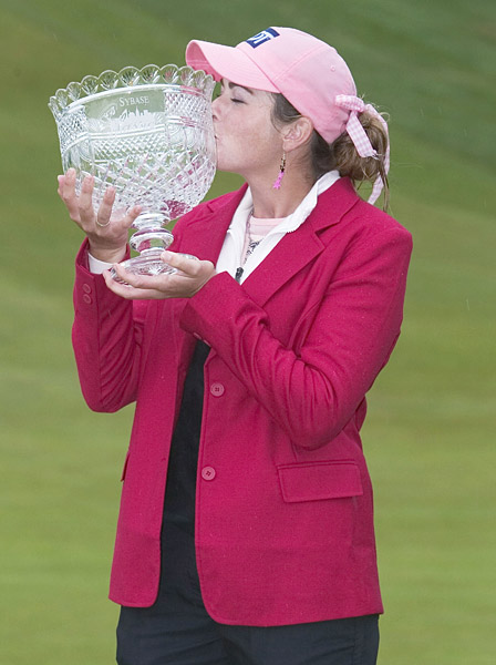Paula Creamer                       In her first year on the LPGA Tour, the 18-year-old Creamer won the 2005 Sybase Classic and the 2005 Evian Masters.