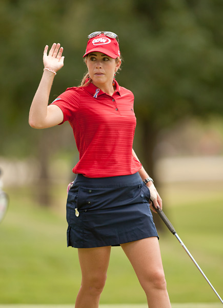 Creamer at the 2011 Wal-Mart NW Arkansas Championship.