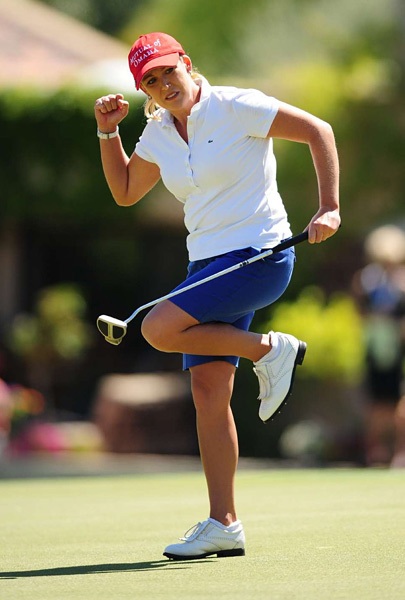 Solheim Cup Record: 7-9-1