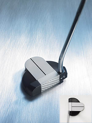 "Never Compromise Gray Matter 2 Mid Mallet                       $255                                              The company line ""Our high-tech lightweight insert, weaved of aluminum and graphite, contributes to extreme heel-toe weighting, consistently straighter roll and soft, yet solid, feel.""                                              Our testers say This midsize aluminum mallet proved a reliable performer. panelists embraced the clever weighting scheme--lightweight face with a tungsten-infused heel and toe. ""The balance made my stroke as rhythmic as a metronome,"" said Kirk Fischer (handicap 7). ""Don't be fooled by its compactness,"" said Roger Liau (17). ""this darling packed a punch for jittery hands."" Gary Wilson (13) added, ""Putts hold their line."" Yet, the test group seemed hot and cold in terms of feel. Guys like Keith Borgfeldt (18) and Mark Waldheim (12) agreed that ""impact was smooth and soft."" Dissenters included Jim Perzan (9) and Gerald Holtzman (0). ""It was too metallic for me,"" said Holtzman. ""I prefer a softer feel on pured strokes.""                                              Additional Comments:                                              ""The wide gray stripe helped you focus on the center of the face.""                        - Hoai Hoang (8)                                              ""Looked like a blade with a mallet blended nicely onto the back.""                        - Victor DeMarco (12)                                              ""Mis-hits? What mis-hits?""                       - Ken Stauffer (14)"
