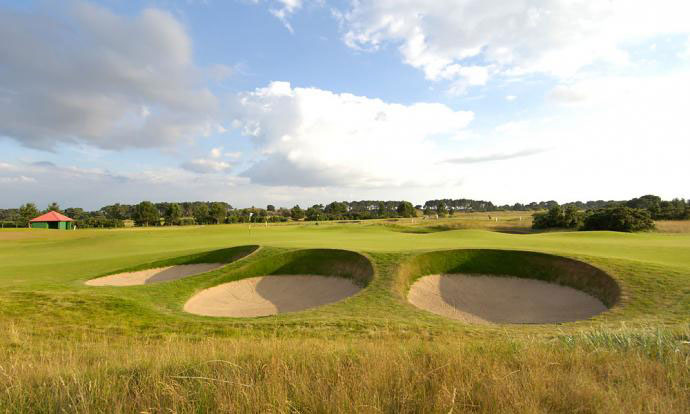 "Ben Curtis: ""I love links golf, and Carnoustie is a great test all around. The last three holes -- a bruising par-3 and two long par-4s -- make for a rugged finish, especially because of the burn that runs through everything. It's a tough, tough stretch. In a way, because of the trees on the couse, you almost feel like you're not in Scotland."""