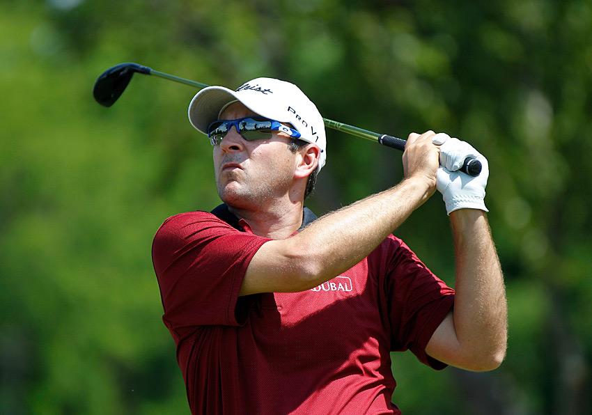 Ben Curtis, who won last week in Texas, shot a four-under 68.