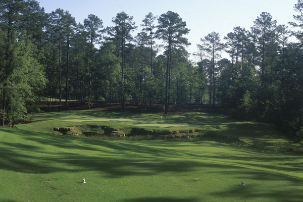 7. Dancing Rabbit Golf Club (Oaks Course)                     Choctaw, Ms.                                          Don't let the cutesy name fool you: this pristine Choctaw Tribal layout in east-central Mississippi is a mean test. The Oaks Course always takes a back seat to its prettier and higher-ranked sibling, the Azaleas course, but it shouldn't. Both are fine Tom Fazio/Jerry Pate designs, but the Oaks features more water and rock outcroppings, yet is often considered more player-friendly thanks to wider fairways.