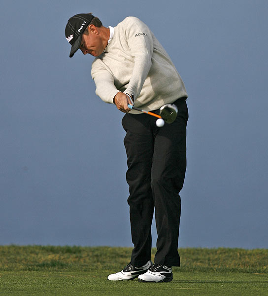 Davis Love III had only one bogey in his 6-under 66 opening round.