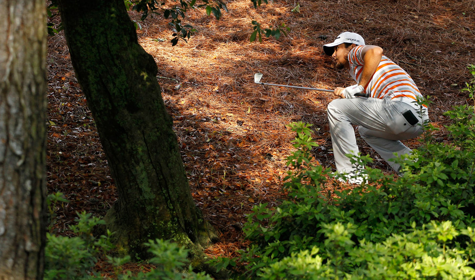 Jason Day, who tied for second last year, opened with a four-over 76.
