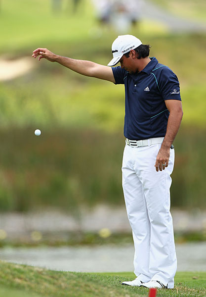 Jason Day shot a two-over 74 to tie for fourth.