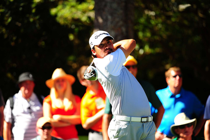 Jason Day is two shots back after a one-over 73.