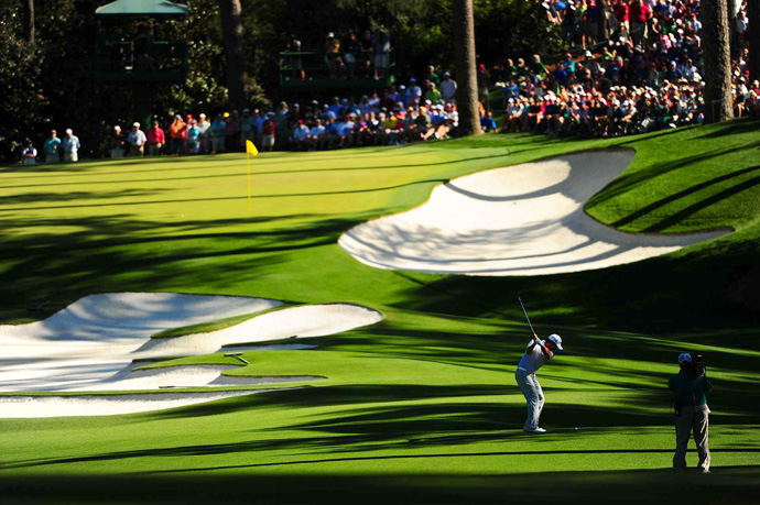 Day tied for second at the 2011 Masters.