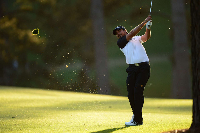 Jason Day shot the low round of the day, a four-under 68, to grab a one-shot lead heading into the weekend.